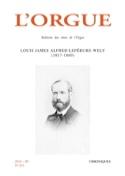 L'orgue, n° 315 : Louis James Alfred Lefébure-Wely (1817-1869) - laflutedepan.com