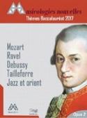 Thèmes Baccalauréat 2017 Nouvelles Musicologies Livre laflutedepan.com