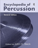 Encyclopedia of percussion BECK John H. ed. Livre laflutedepan.com