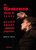 Le flamenco dans le texte Mario BOIS Livre Les Pays - laflutedepan.com