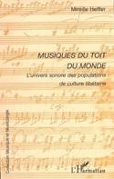 Musiques du toit du monde Mireille HELFFER Livre laflutedepan.com
