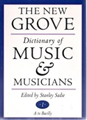 The new Grove Dictionary of Music & Musicians - laflutedepan.com
