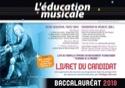 L'éducation musicale - baccalauréat 2018 : le livret du candidat laflutedepan.com