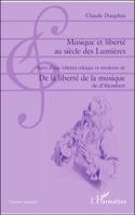 Musique et liberté au siècle des Lumières laflutedepan.com