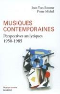 Musiques contemporaines : perspectives analytiques (1950-1985) laflutedepan.com