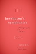 Beethoven's Symphonies Martin GECK Livre Les Hommes - laflutedepan.com