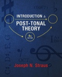 Introduction to post-tonal theory STRAUS Joseph N. laflutedepan.com
