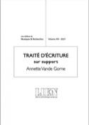 Revue LIEN, volume VIII : traité d'écriture sur support laflutedepan.com