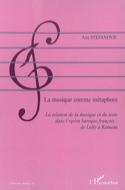 La musique comme métaphore Ana STEFANOVIC Livre laflutedepan.com