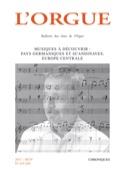L'orgue, n° 319-320 Revue Livre Les Instruments - laflutedepan.com