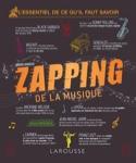 Le zapping de la musique Gérard DENIZEAU Livre laflutedepan.com