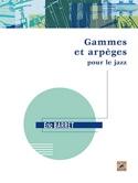 Gammes et arpèges pour le jazz Éric BARRET Livre laflutedepan.com
