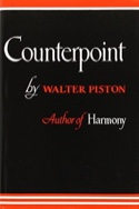 Counterpoint Walter PISTON Livre Contrepoint - laflutedepan.com