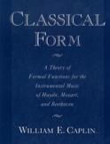Classical form CAPLIN William E. Livre Les Epoques - laflutedepan.be