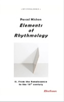Elements of rhythmology, vol. 2 : from the Enlightenment to the 19th century laflutedepan.com