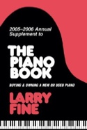 2005-2006 annual supplement to The piano book laflutedepan.com