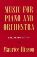 Music for piano and orchestra : an annotated guide - laflutedepan.com
