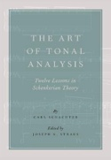 The art of tonal analysis STRAUS Joseph ed. Livre laflutedepan.com
