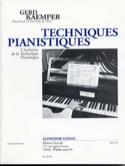 Techniques pianistiques Gerd KAEMPER Livre laflutedepan.com