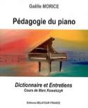 Pédagogie du piano : dictionnaire et entretiens - cours de Marc Kowalczyk laflutedepan.com