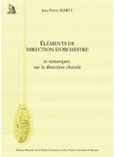 Éléments de direction d'orchestre MARTY Jean-Pierre laflutedepan.com