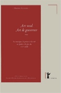 Art vocal - art de gouverner Florence ALAZARD Livre laflutedepan.com