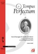 Tempus Perfectum, n° 13 - L'art d'enseigner le toucher du clavier, volume 2 laflutedepan.com