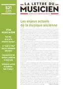 La lettre du musicien, n° 521 - mars 2019 Revue laflutedepan.com