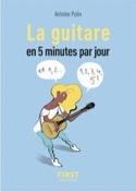 La guitare en 5 minutes par jour Antoine POLIN Livre laflutedepan.com