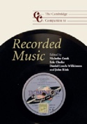 The Cambridge companion to Recorded music - laflutedepan.com