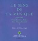 Le sens de la musique, vol. 1 Violaine ANGER Livre laflutedepan.com