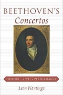 Beethoven's Concertos Leon PLANTINGA Livre laflutedepan.com