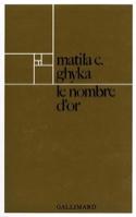 Le Nombre d'or GHYKA Matila Costiescu Livre laflutedepan.com