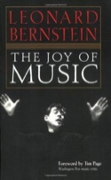 The joy of music Leonard BERNSTEIN Livre Les Hommes - laflutedepan.com
