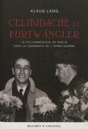 Celibidache et Furtwängler Klaus LANG Livre laflutedepan.com