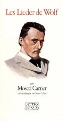 Les Lieder de Wolf Mosco CARNER Livre Les Oeuvres - laflutedepan.com