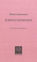 Écrits et entretiens Helmut LACHENMANN Livre laflutedepan.com