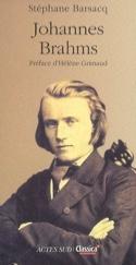 Johannes Brahms Stéphane BARSACQ Livre Les Hommes - laflutedepan.com