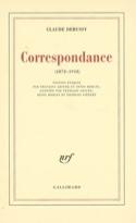 Correspondance : 1872-1918 Claude DEBUSSY Livre laflutedepan.com