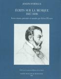 Ecrits sur la musique, 1827-1846 Joseph (d') ORTIGUE laflutedepan.com