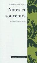 Notes et souvenirs Charles DANCLA Livre Les Hommes - laflutedepan.com
