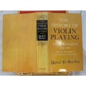 The history of violin playing from its origins to 1761 laflutedepan.com