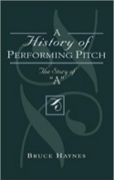 A history of performing pitch : the story of A - laflutedepan.com