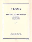 Tableau instrumental - Eugène BOZZA - Livre - laflutedepan.com