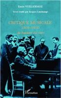 Critique musicale, 1902-1960 : au bonheur des soirs laflutedepan.com