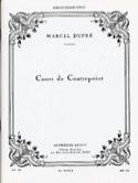 Cours de contrepoint Marcel DUPRÉ Livre Contrepoint - laflutedepan.com