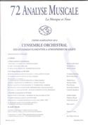 Analyse musicale, n° 72 : Agrégation 2014 Revue Livre laflutedepan.com