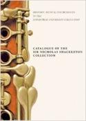 Catalogue of the Sir Nicholas Shackleton Collection (Livre en anglais) laflutedepan.com