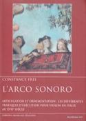 L'Arco sonoro Constance FREI Livre Les Instruments - laflutedepan.com