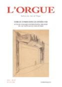 L'orgue, n° 295-296 (2011/III-IV) - Revue - Livre - laflutedepan.com